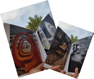 Electronic Book on travel pictures
