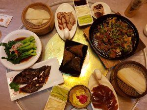 Sumptuous Dinner of Peking Duck